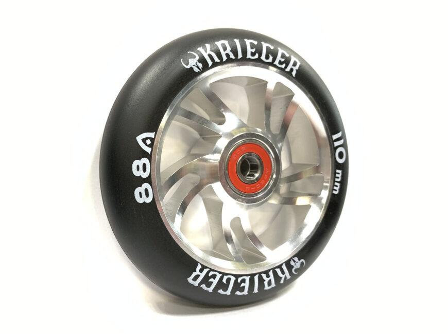 KRIEGER 001 AB 110 mm silver
