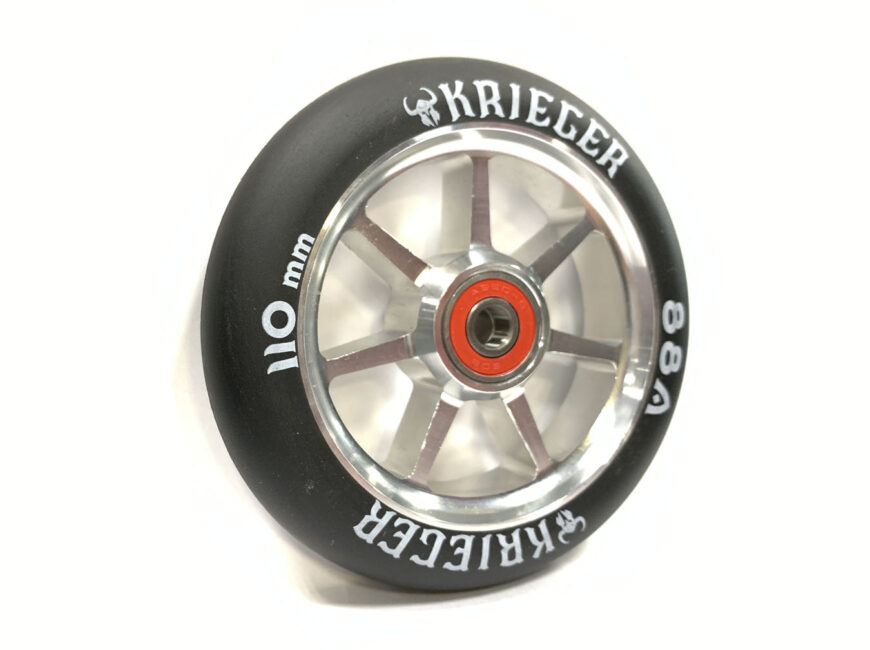 KRIEGER 012 AB 110 mm silver